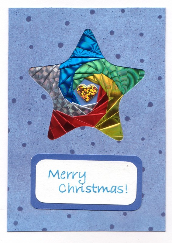 Multi-colored Christmas Star
