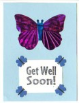 Butterfly Get Well
