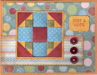 Cedars of Lebanon Quilt Block Card