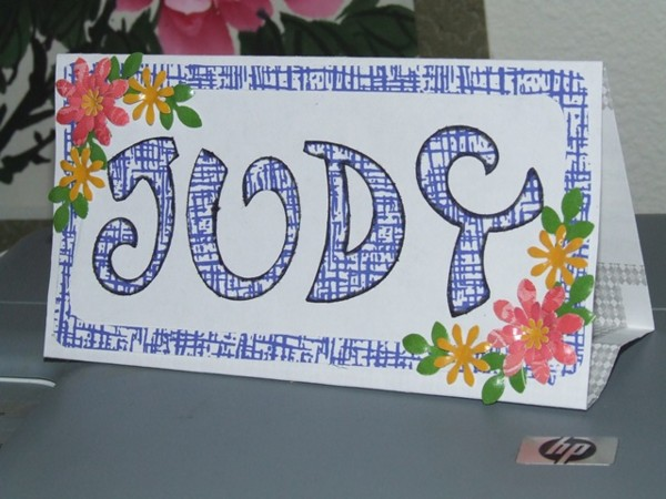 Envelope Place Card